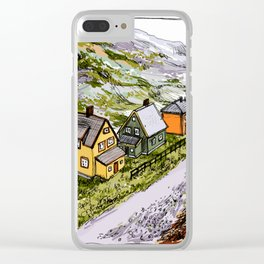 Little dream Clear iPhone Case