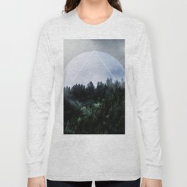 Foggy Woods 3X Long Sleeve T-shirt
