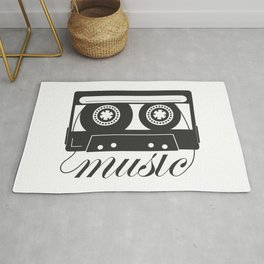 Compact cassette ( music classic ) Rug