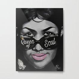 Queen of Soul Metal Print