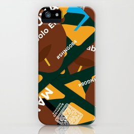 SHNG084 iPhone Case
