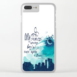 The Lunar Chronicles Quote Clear iPhone Case