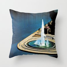 The Fountain at The Point Throw Pillow