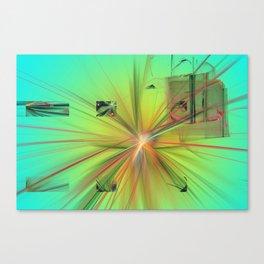 Modern Bang Canvas Print