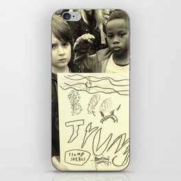 The Power Boys: Trump Sucks B & W iPhone Skin