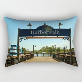 Harborwalk Sign Rectangular Pillow