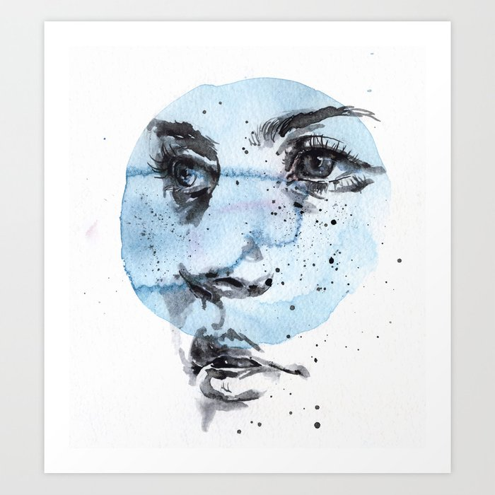 Discover the motif SMALL PIECE 27 by Agnes Cecile as a print at TOPPOSTER