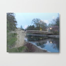 Victoria Park at dusk - Kitchener, ONT Metal Print