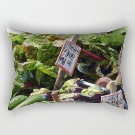 Vegetable Stand - Pike Place Market Rectangular Pillow