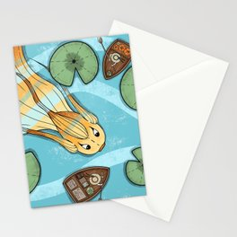 Pumpkin Fish Stationery Cards