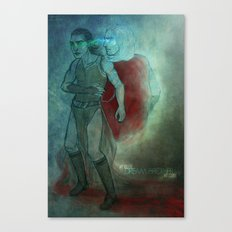 Thor & Loki - dream brother Canvas Print