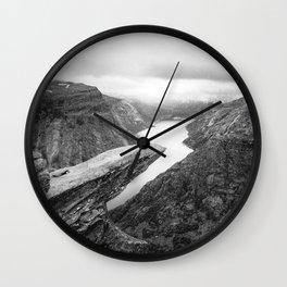 Trolltunga Norway Wall Clock