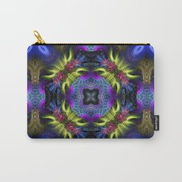 Geometric Fractal - Goa Nights Carry-All Pouch