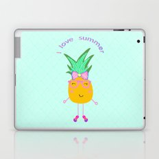 Cute Hipster Pineapple Laptop & iPad Skin