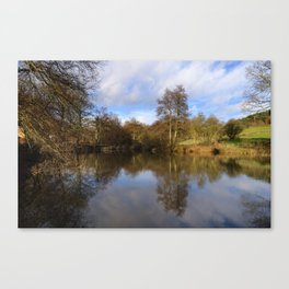Lumsdale pool Canvas Print