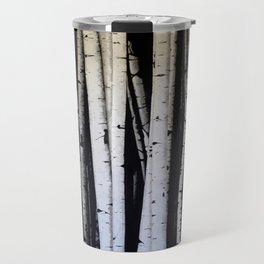 Birch Trees Travel Mug