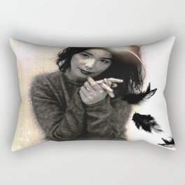 Holy Bjork Rectangular Pillow