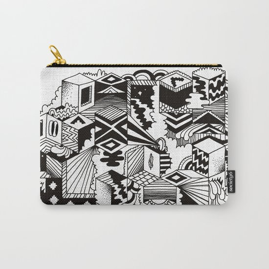 Cube-ular Carry-All Pouch