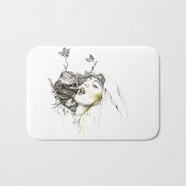 Bird Feeding Bath Mat