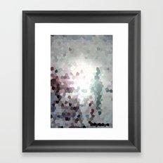 Hex Dust 3 Framed Art Print