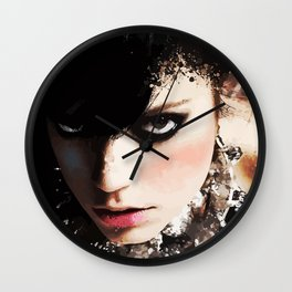 Silly Lilly Wall Clock