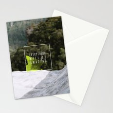Everything Will Be Amazing Stationery Cards
