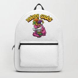 Mardi Gras Unicorn - Mythical Creature Costume Backpack