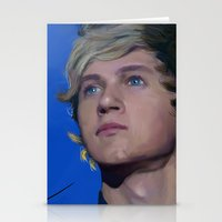 niall horan Stationery Cards featuring Niall Horan  by Tune In Apparel