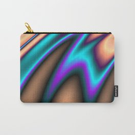 Abstract Fractal Colorways 03 Southwestern Carry-All Pouch