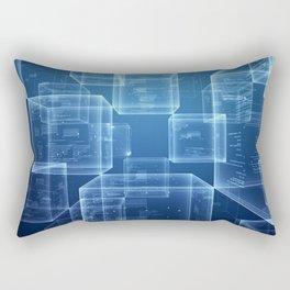 The Blockchain Rectangular Pillow
