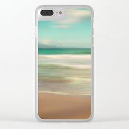 OCEAN DREAM IV-A Clear iPhone Case