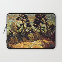 Tom Thomson - Summer Shore, Georgian Bay  - Canada, Canadian Oil Painting - Group of Seven Laptop Sleeve