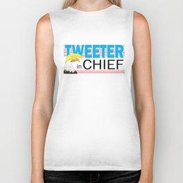 Tweeter in Chief Biker Tank