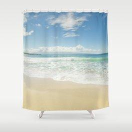 kapalua beach maui hawaii Shower Curtain