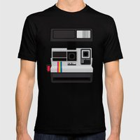 Polaroid Supercolor 635CL MEDIUM Black Mens Fitted Tee