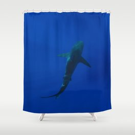 Hawaiian Shark IV Shower Curtain