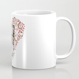 Toxic Love with Skull on the Barrel Coffee Mug