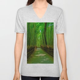 Bamboo Trail Unisex V-Neck