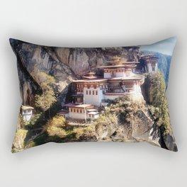 Taktshang Goemba - Tiger's Nest Monastery Rectangular Pillow