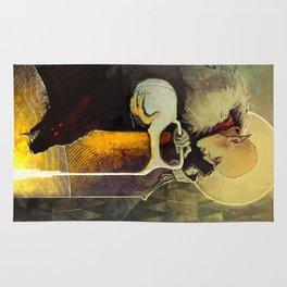 Aquarius Solas Fen'Harel card Rug