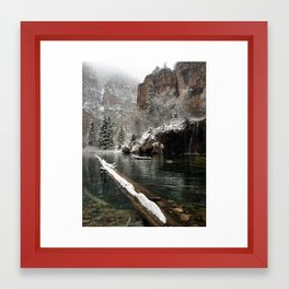 Hanging Lake, White River National Forest CO Framed Art Print