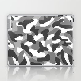 Grey Gray Camo Camouflage Laptop & iPad Skin