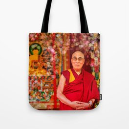 Love Dalai Lama Tote Bag