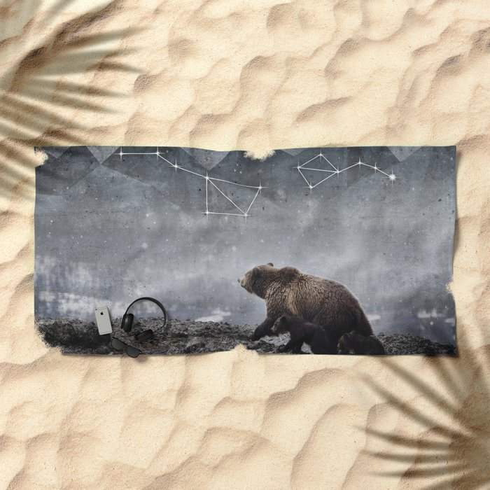 Ursa Major Beach Towel