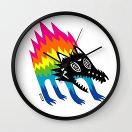 Screech Wall Clock