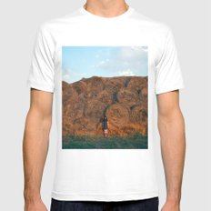 heyloft sunset Mens Fitted Tee MEDIUM White