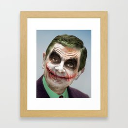 Joker atkinson Framed Art Print