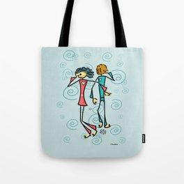 Broken Lovers Tote Bag