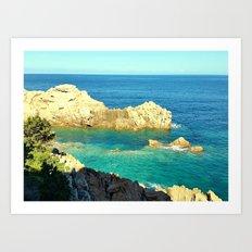 Costa Paradiso - Sardinia Art Print