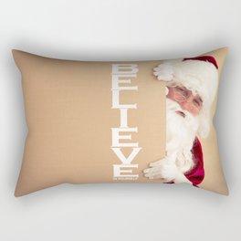 Believe in... Rectangular Pillow